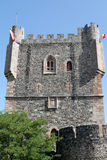 Bragancakasteel, tras-os-Montes, het nationale monument van Portugal Stock Fotografie