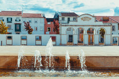 Braganza Square Royalty Free Stock Image