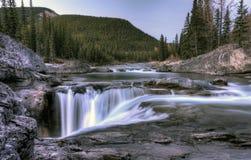 Bragg Creek Waterfall Stock Photo
