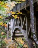 Braguero concreto del puente Fotos de archivo