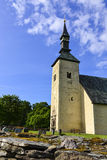 Brahe church of Visingsö in Sweden Stock Image