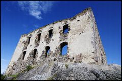 brahehus城堡 免版税库存图片