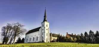 Brahetrolleborg castle west of Faaborg, Denmark Royalty Free Stock Images