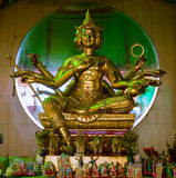Brahma雕象在泰国 库存图片