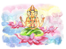 Brahma Royalty Free Stock Photography