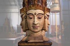 Brahma die Statuenreplik (Thailand-Kultur) Stockfotos
