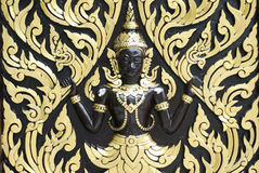 Brahma (The Hindu God of Creation) stock image