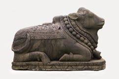 Brahma la vaca de piedra Fotos de archivo libres de regalías