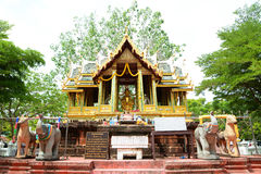 Brahma-Pavillon lizenzfreies stockfoto