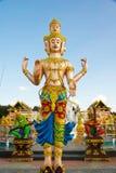 Brahma Statue Stock Photography
