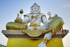 Brahma statue lord of hidu indian culture Royalty Free Stock Photo