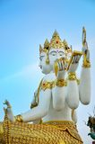 Brahma statue lord of hindu indian culture Stock Image
