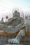 Brahma. Statue under construction, Thailand royalty free stock images