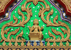 Brahma of a temple. Brahma on the arch architecture craft Royalty Free Stock Images