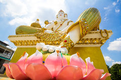 Brahma. In the temple of Thailand stock photos