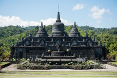 Brahma Vihara Arama Buddhist Monastery. On Bali, Indonesia stock photography