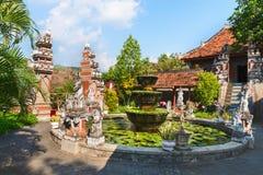 在巴厘岛的Buddist Monastry 免版税库存图片