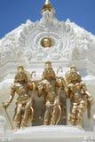 Brahma, Vishnu och Shiva Arkivbild