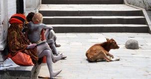 Brahmaanpriesters Royalty-vrije Stock Afbeeldingen