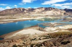 Brahmaputra-Fluss Lizenzfreie Stockbilder
