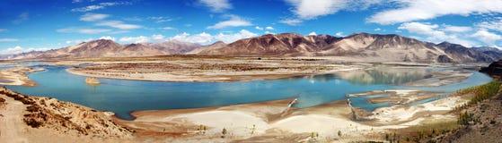 Brahmaputra-Fluss Lizenzfreie Stockfotos