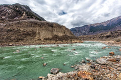 The Brahmaputra Grand Canyon Royalty Free Stock Image