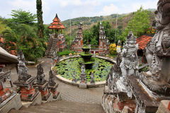 Brahmavihara荒马修道院,巴厘岛(印度尼西亚) 免版税库存照片