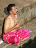Brahmin Praying Stock Photos