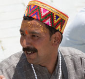 A Brahmin priest Stock Photos