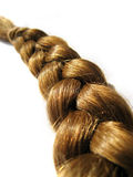 Braid. A closeup of a single braid royalty free stock photography