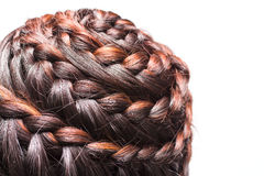 Braid hair Stock Image