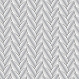 Braid from leaves cut out Royalty Free Stock Photos
