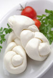 Braid  mozzarella Stock Images