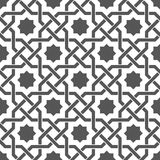 Braid pattern, seamless vector background. Stock Photography