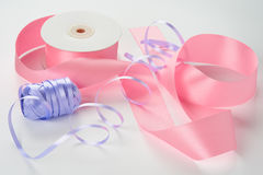 Braid and ribbon Royalty Free Stock Photo