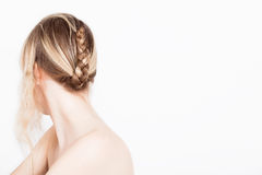 Braid from a teenage girl Royalty Free Stock Photo