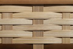 Braided Bamboo Background royalty free stock images