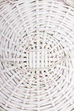 Braided basket in the manner of background Royalty Free Stock Photos