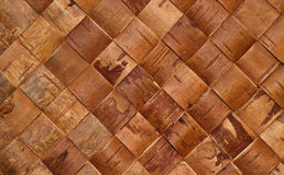 Braided birch-bark. Close up of braided birch-bark Stock Photo