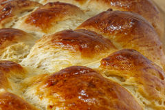 Braided bread crust Stock Photography