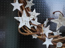 Braided chaplet stars Stock Photos