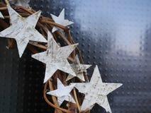 Braided chaplet stars Stock Photo