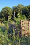 Braided fence Royalty Free Stock Image