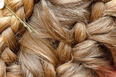 Braided hair Royalty Free Stock Photo