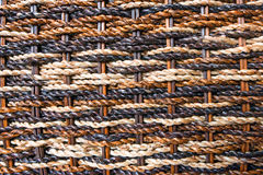 Braided mat Royalty Free Stock Photos