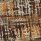Braided multi colored woollen yarns. Braided multi-colored woollen yarns Stock Image