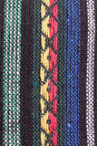 Braided multi colored woollen yarns Royalty Free Stock Photography