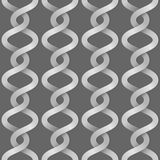 Braided paper stripes Stock Photography