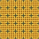 Braided pattern. Seamless background. Royalty Free Stock Photo