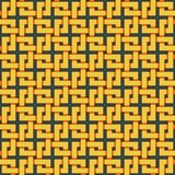 Braided pattern. Seamless background. Stock Photography